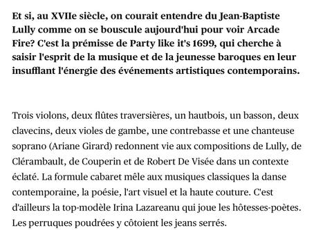 Interview— Le Devoir