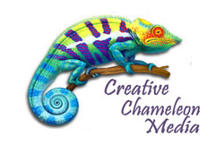 Creative Chameleon Media - logo - shirt
