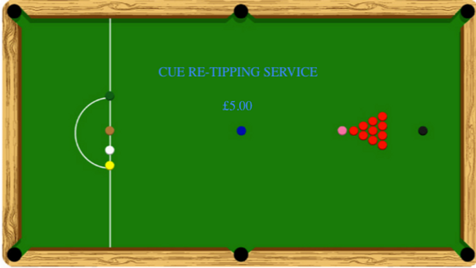 Cue Re-Tipping Service