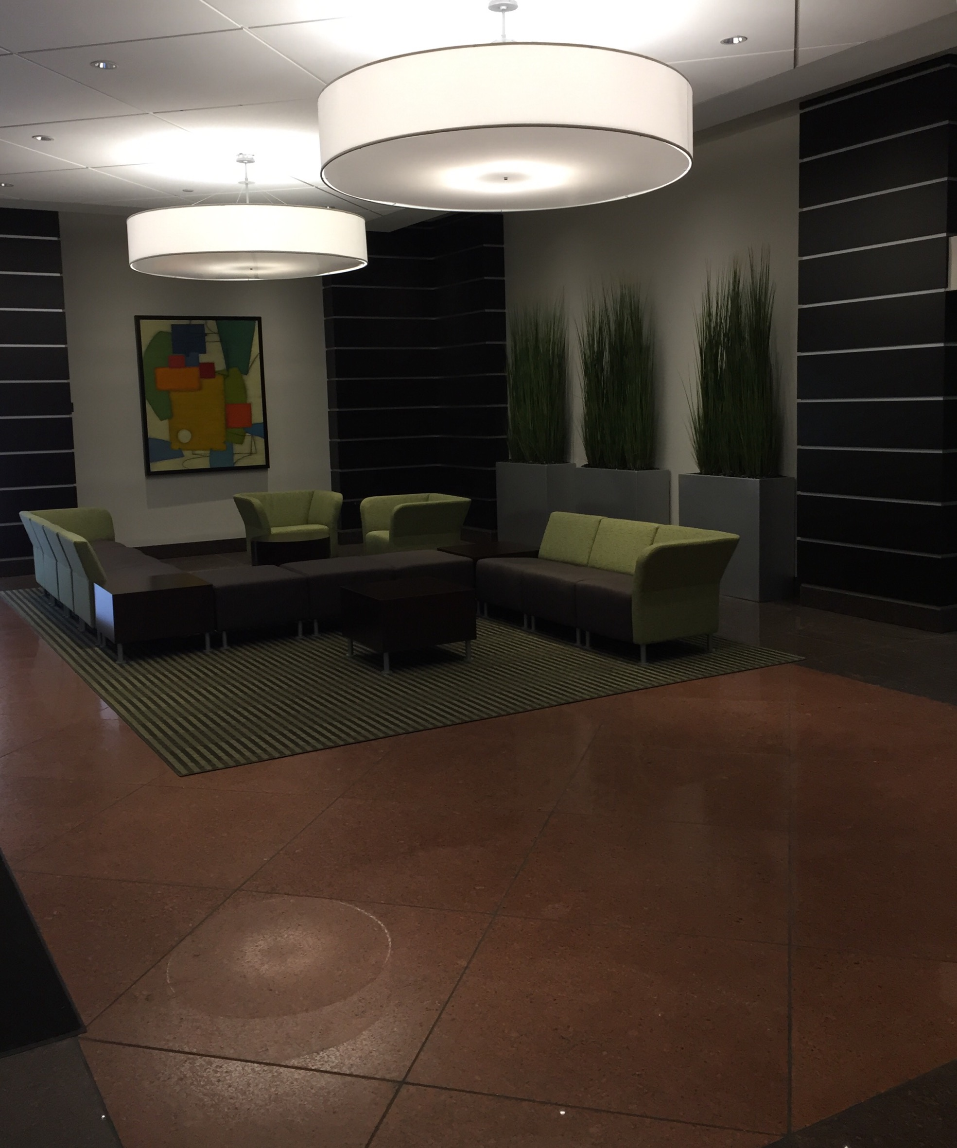 Pan Am Plaza Lobby