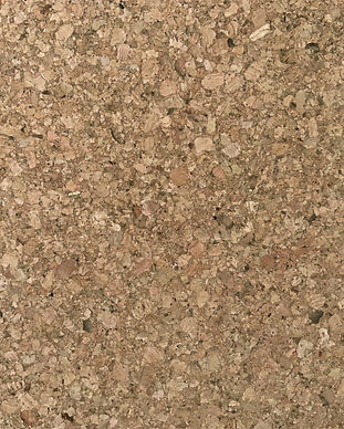 Raw traditional natural cork tile