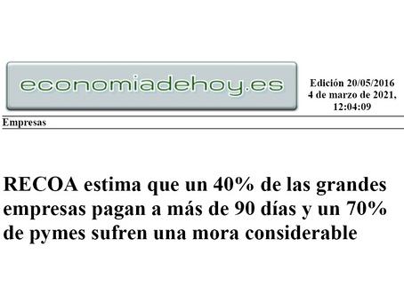 ECONOMIA DE HOY