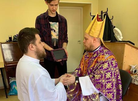 В Санкт-Петербурге рукоположен новый диакон.