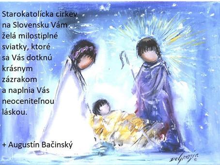 Поздравления с Рождеством от Патриарха Августина Бачинского