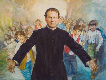 Мощи Св. Иоанна Боско.
