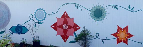 Our Lotus Mural