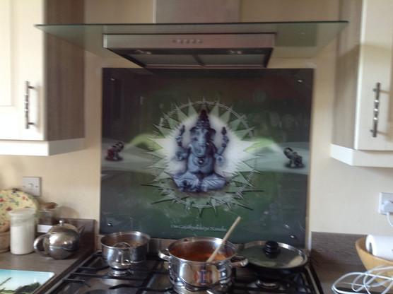 Cooking with Ganesha