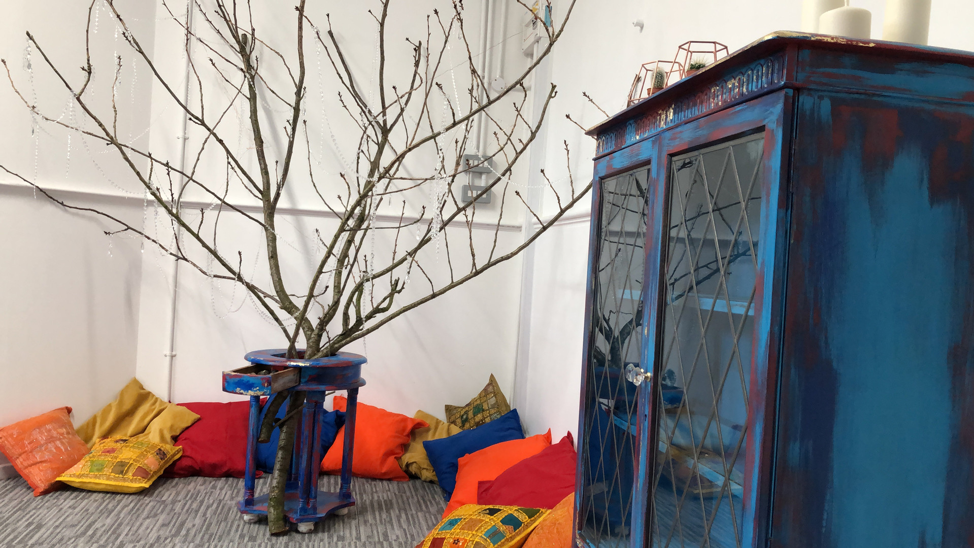 entrance: meditation tree