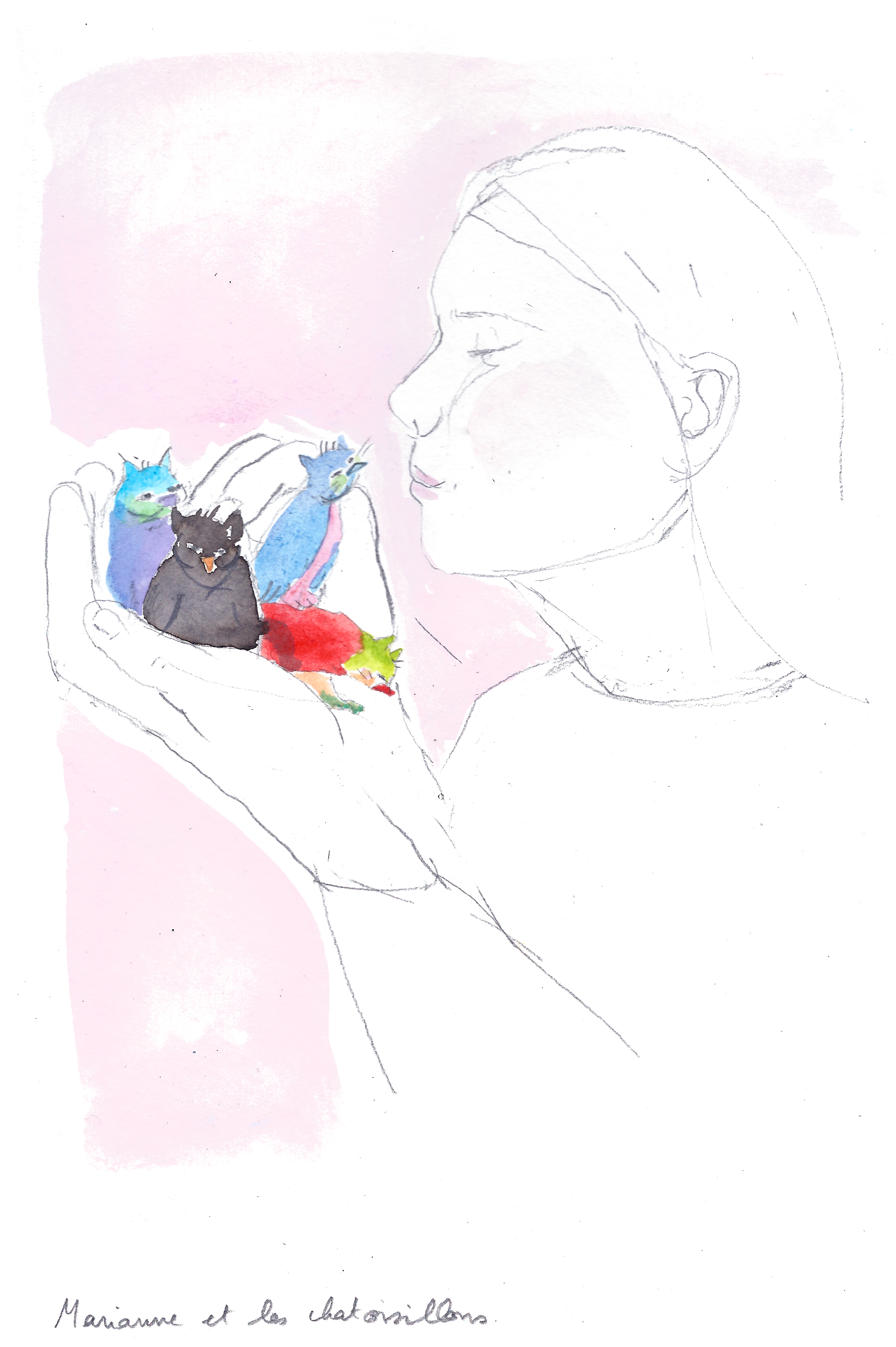 Marianne et les chatoisillons