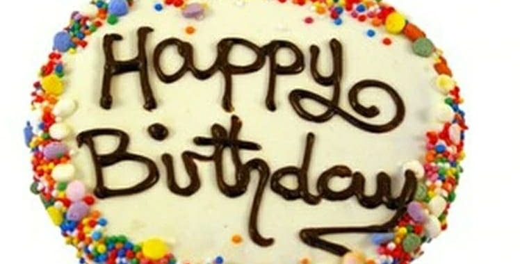 Birthday cake biscuit - Yoghurt
