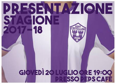 Presentazione stagione 2017/2018