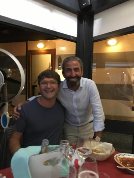 Cena con dirigenza e main sponsor...Un super grazie anche al mitico Vincenzo!