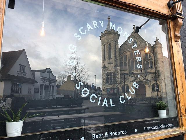 Big Scary Monsters Social Club