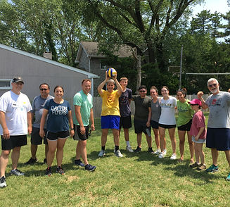 Summer Week Retreat, Volleyball Winners victory photo