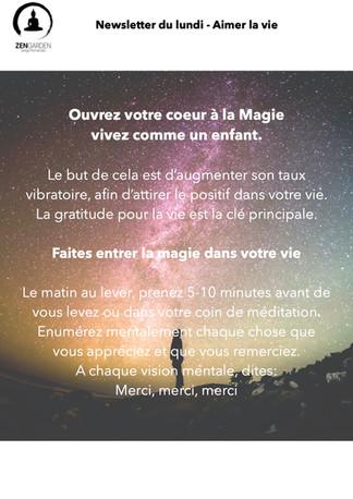 Ouvrez votre coeur à la Magie