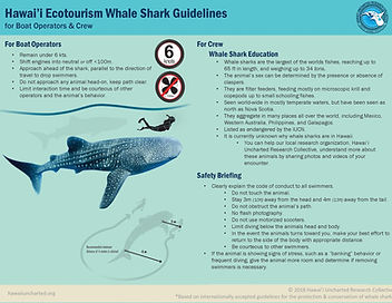 Ecotourism Guidelines for Boat Operators & Crew