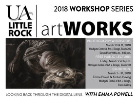 Lecture and workshop at UA Little Rock