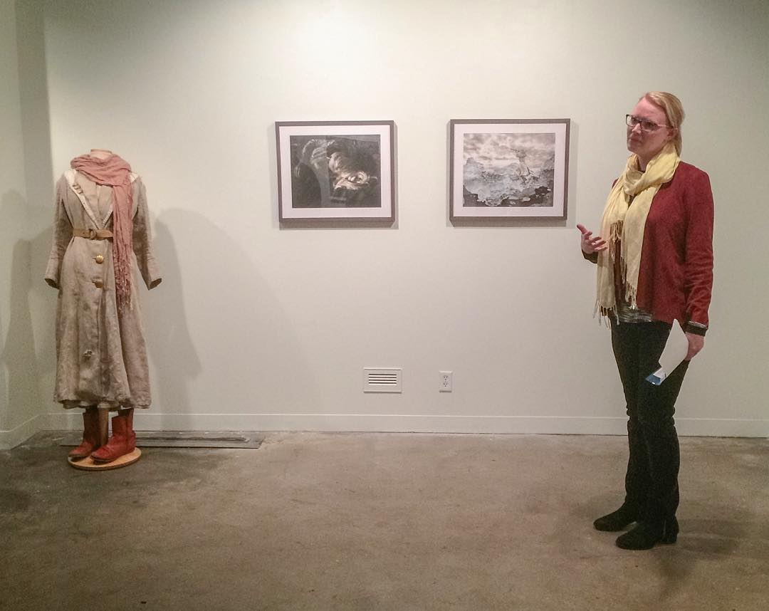 Coburn Gallery artist talk