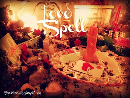 Love spell done by Our High Priestess