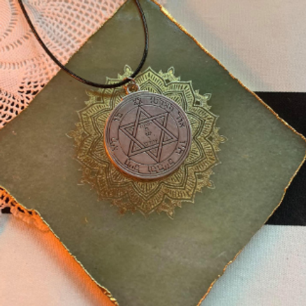 2nd and 6th Pentacle of Mars for Good Health and Protection