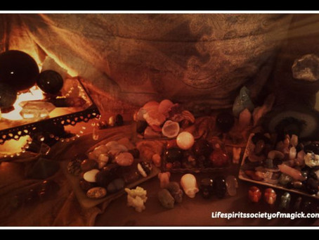 Beginning Crystal Use For Magick