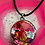 Thumbnail: Erzulie, Voodoo Loa of Love & Beauty with Customized Resin Back