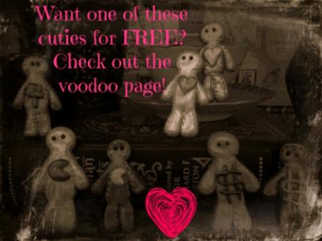 Free Little Voodoo Doll (READ Description)