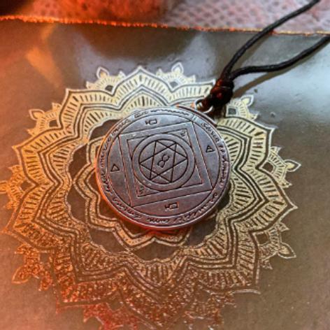 Seal of Jupiter for Good Luck Talisman