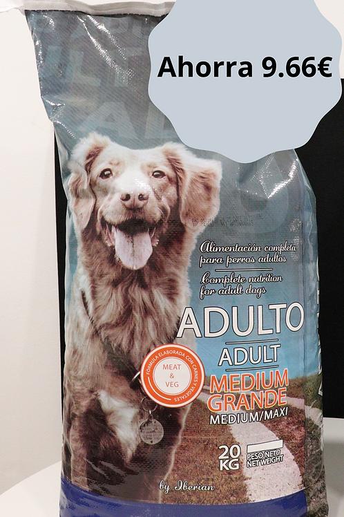 3 sacos Pienso Perros Adulto Iberian