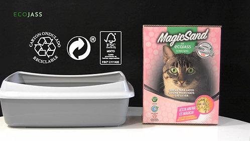 Pack 2 cajas 7.5L MagicSand + 2 GRATIS
