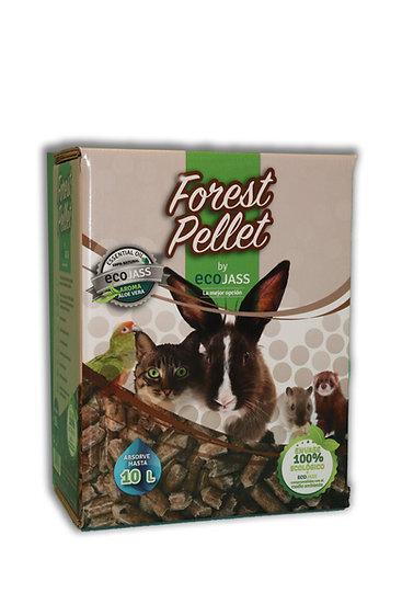 Caja de Fibra vegetal Forest Pellet 10L