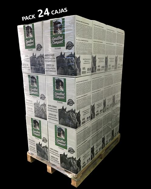 PACK 24 cajas 12kg de SandBed Compact
