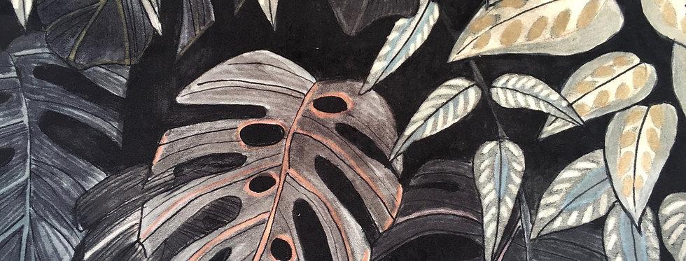 Tanglewood Forest Nightfall Velvet