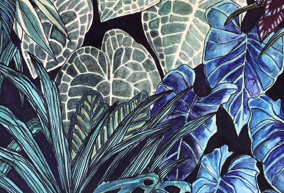 Tanglewood Forest Viridan Velvet