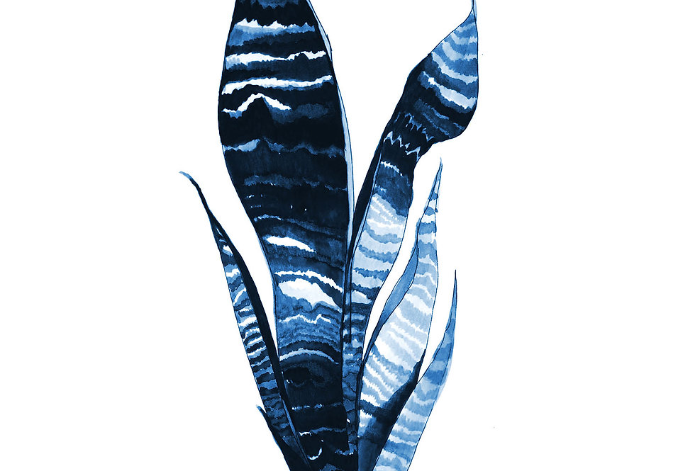 BOTANICAL 3 DELFT BLUE SERIES