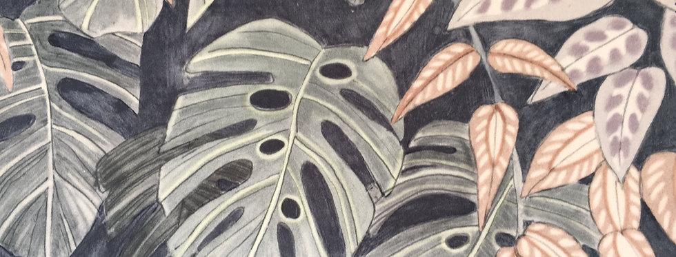 Tanglewood Forest Silver Ash Velvet