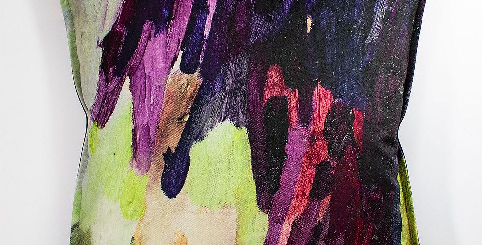 Lucy Jane Turpin Plum Velvet 60 x 60 cushion