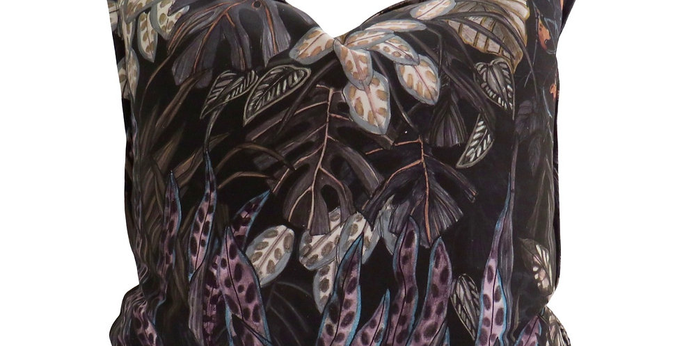 Tanglewood Forest Nightfall Cotton 55 x 55 Cushion