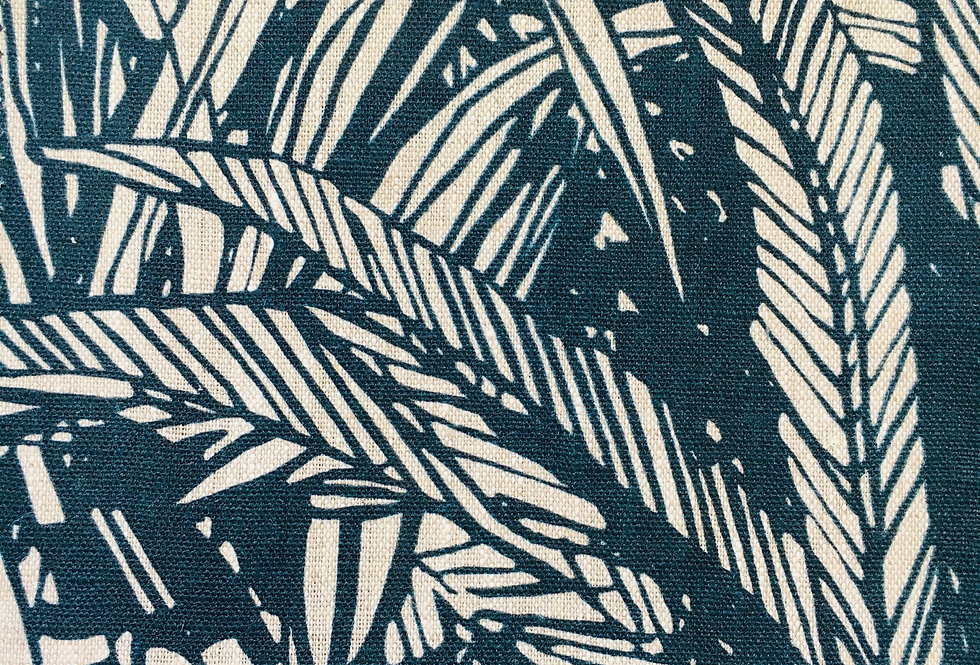 Jungle Linen col. Teal