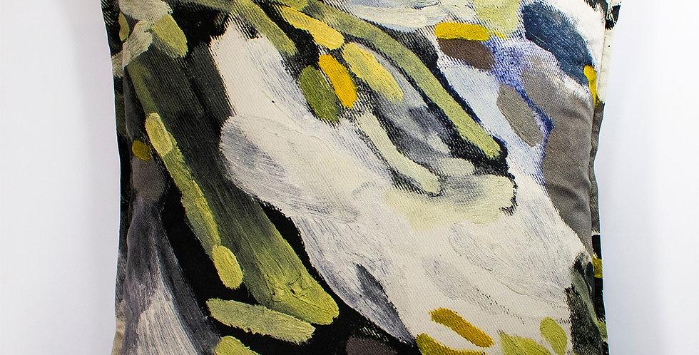 Lucy Jane Turpin Leopard Velvet 60 x 60 Cushion