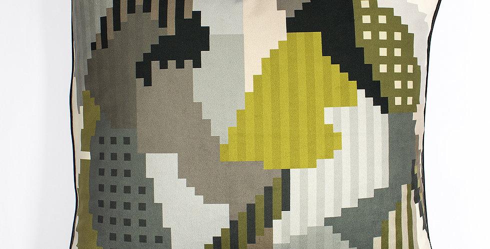Mr& Mrs Luke Leopard Velvet 60 x 60 cushion