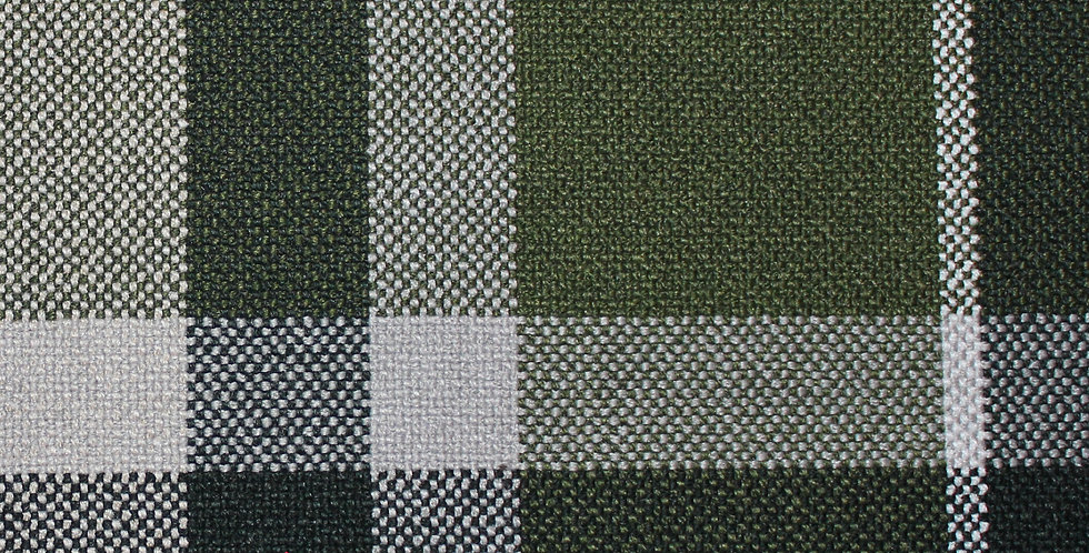 Afghanistan plaid col. Green
