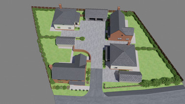 Overall Site Plan, The Conifers