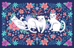 Blue cat 3 cats small.jpg