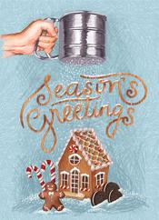 greetings card with bleed gingerbread.jp
