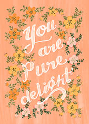 greetings card with bleed pure delight.j