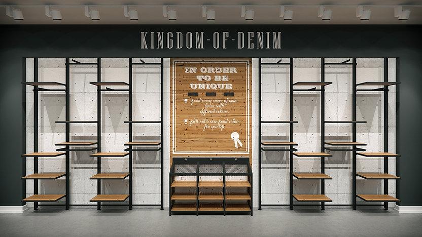 Mağaza Tasarıım ve Dekorasyonu | Mağaza Duvar Ünitesi | Fix