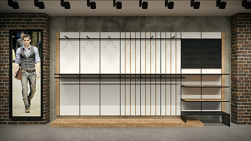 Shop Design Solutions | Wall Systems | Basic System