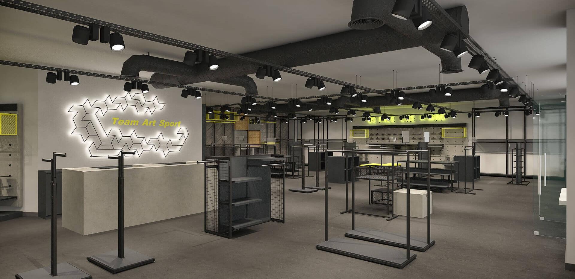 Team Sport - Sports Store Shop Design-2.