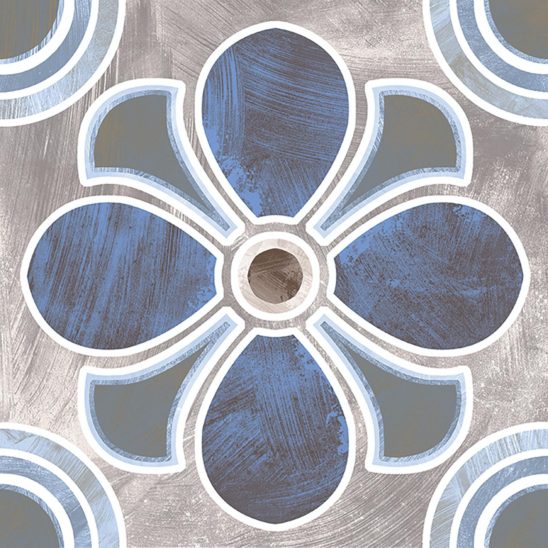MONZA 20x20 Blue Insert
